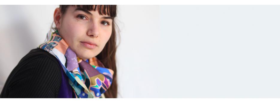 Carré de soie pour femmes de notre collection Daniel Vial